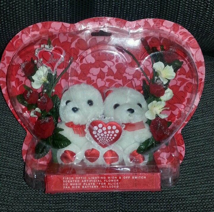 valentines day bears ebay