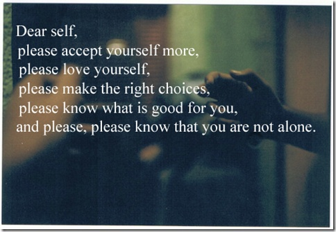 Accept Yourself More