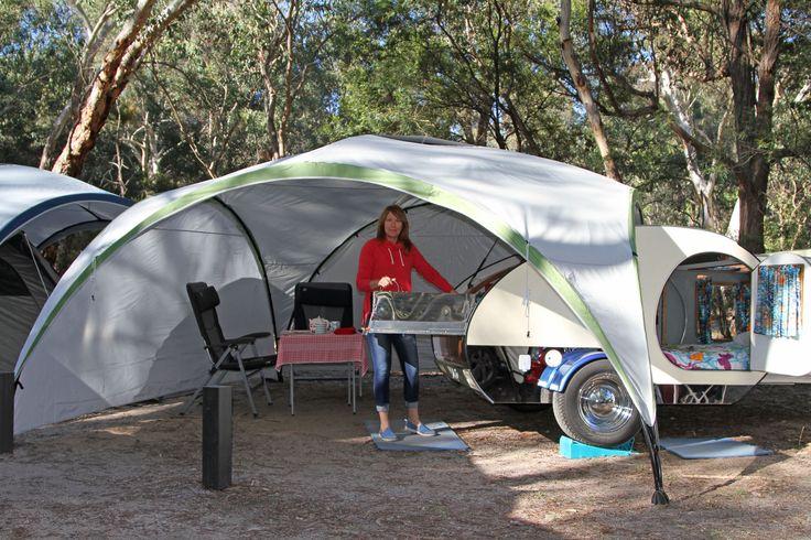 Gidget Retro Teardrop Camper Teardrop Campers Pinterest