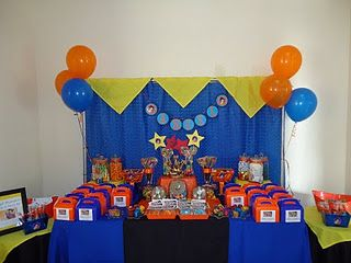 Dragon ball z birthday idea my son is in love with drago for Dragon ball z decorations