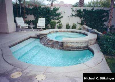 Pool Designs Small: swimming pool on pinterest small pools above ...