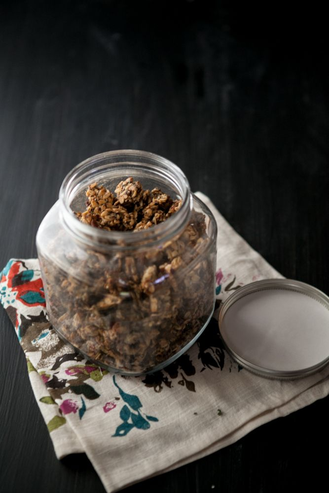 Roasted Banana-Nut Granola | Recipe