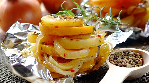 Marinated And Roasted Vidalia Onion Rings With Parmesan Recipes ...