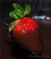 Chocolate Coconut Almond Fondue... Sounds Heavenly!