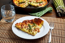 Asparagus and Double Smoked Bacon Popover   Recipe