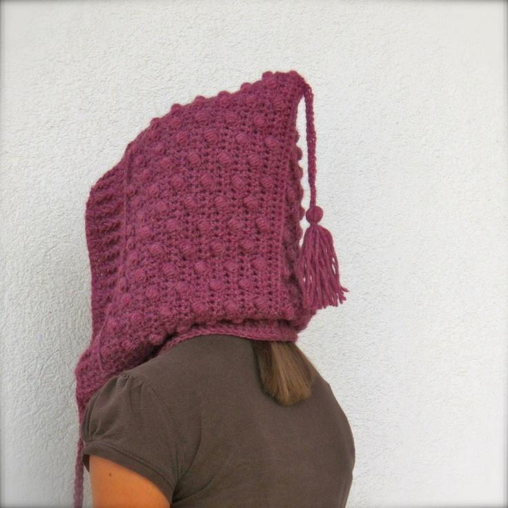 FREE bobble hood crochet pattern Crochet Pinterest