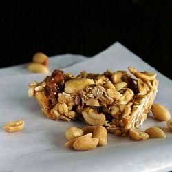 Homemade Nutty Oatmeal Bars Superfood: Oats and use no salt peanuts