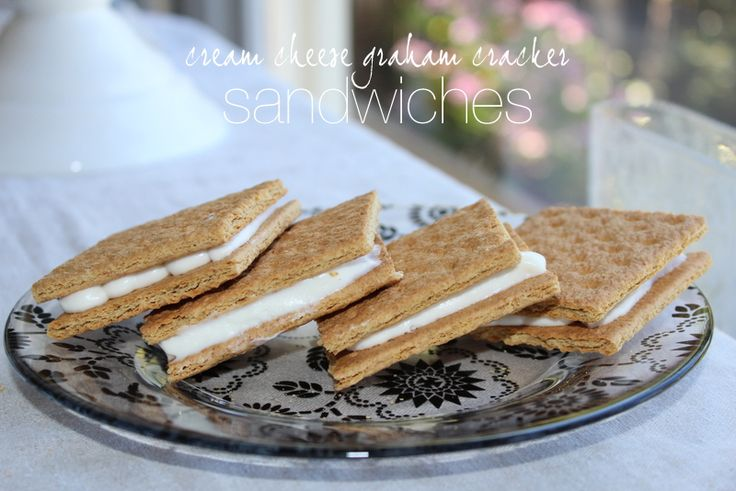 Graham Cracker Frosting Sandwiches - cronincompanystore.com