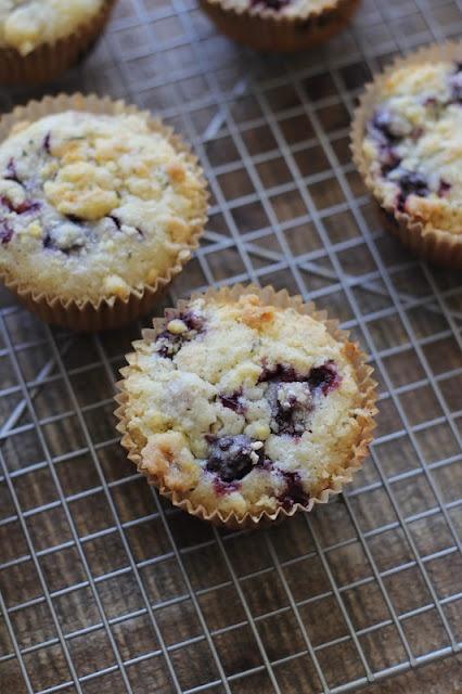 recipe for blackberry rosemary muffins | Favorite Recipes | Pinterest