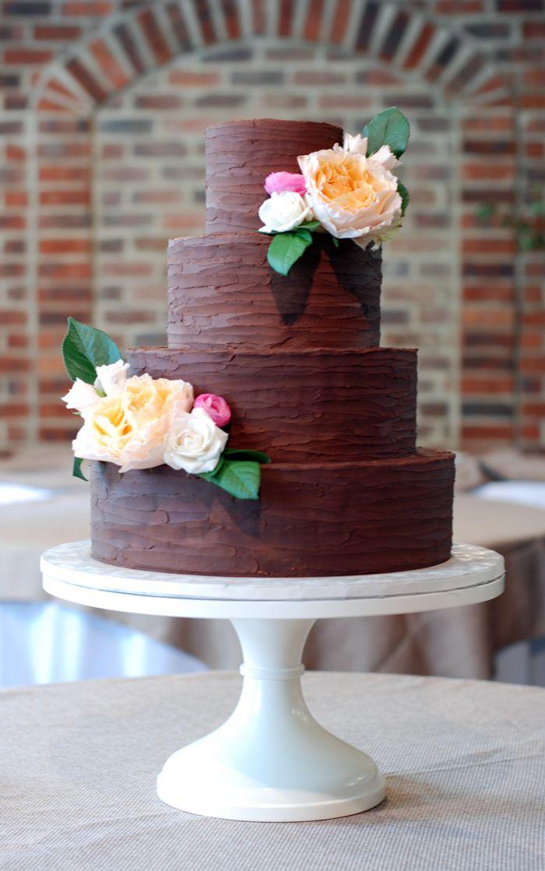 Dark Chocolate Cake Raspberry Buttercream