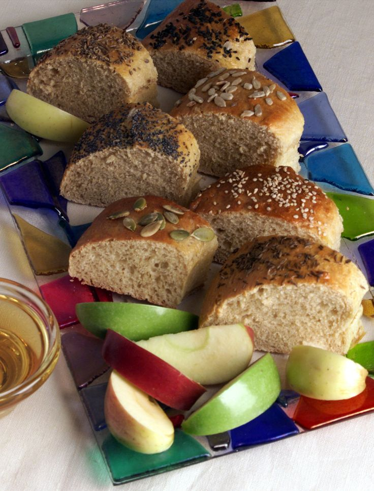 ... Rosh Hashana would be incomplete without challah--the round loaf