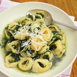 Spinach Tortellini En Brodo Recipes — Dishmaps