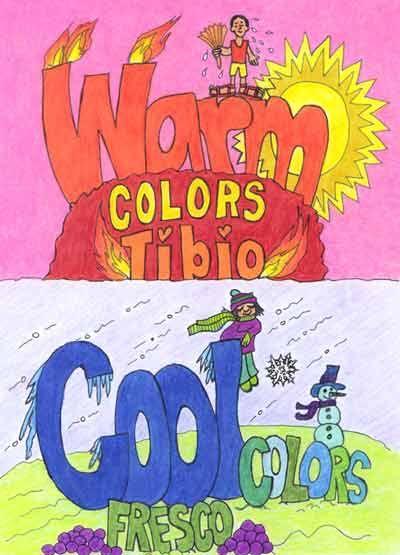 Pin by lc kunstplein on kleur pinterest - Kleur warm en koud ...