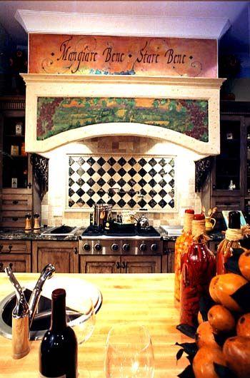 Italian Bistro Kitchen Decor