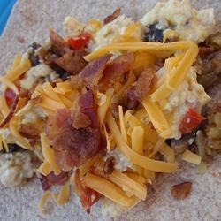 Potato Skillet Allrecipes.com (eggs, bacon, cheese, potatoes)