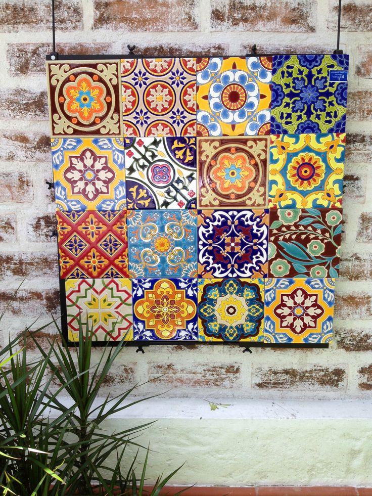 Pin by alexandra bezrukova on tiles details etc pinterest - Azulejos artesanales ...