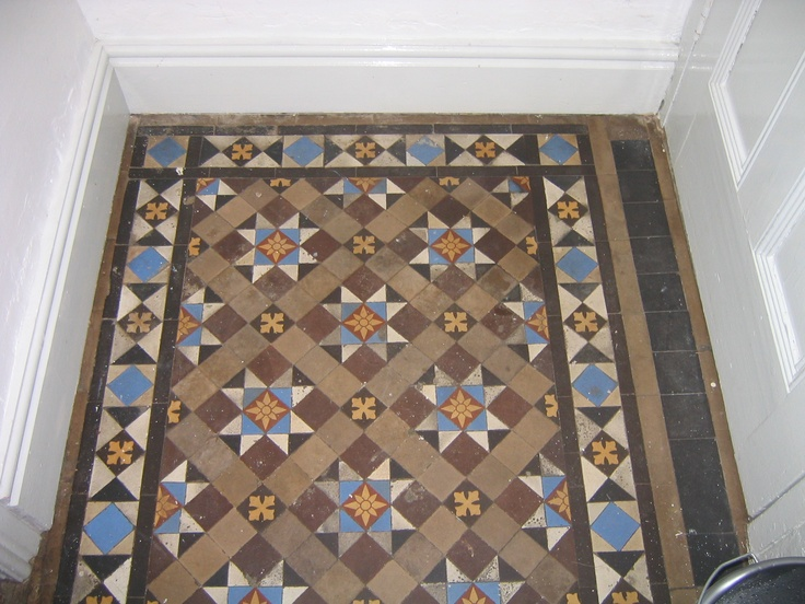 Minton Floor Tiles House And Home Pinterest