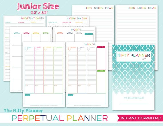Printable Day Planner 5.5 X 8.5 | April Calendar