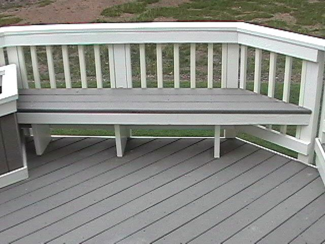 Deck Bench Home Likes Pinterest