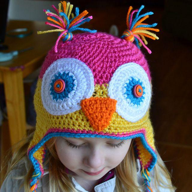 Crochet Tutorial Owl : Found on crochetincolor.blogspot.de