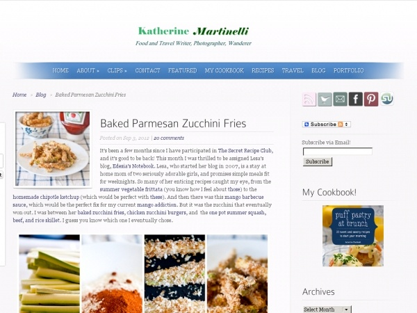 Baked Parmesan Zucchini Fries | Recipe