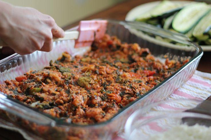 No noodles lasagna - use zuchinni! | Books Worth Reading | Pinterest