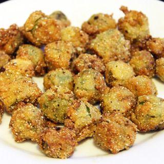 Perfect Fried Okra Recipe | recipes | Pinterest