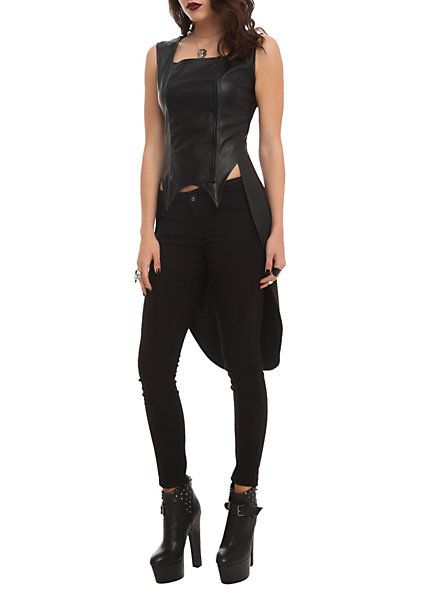 Disney Maleficent Snap Front Vest | Hot Topic