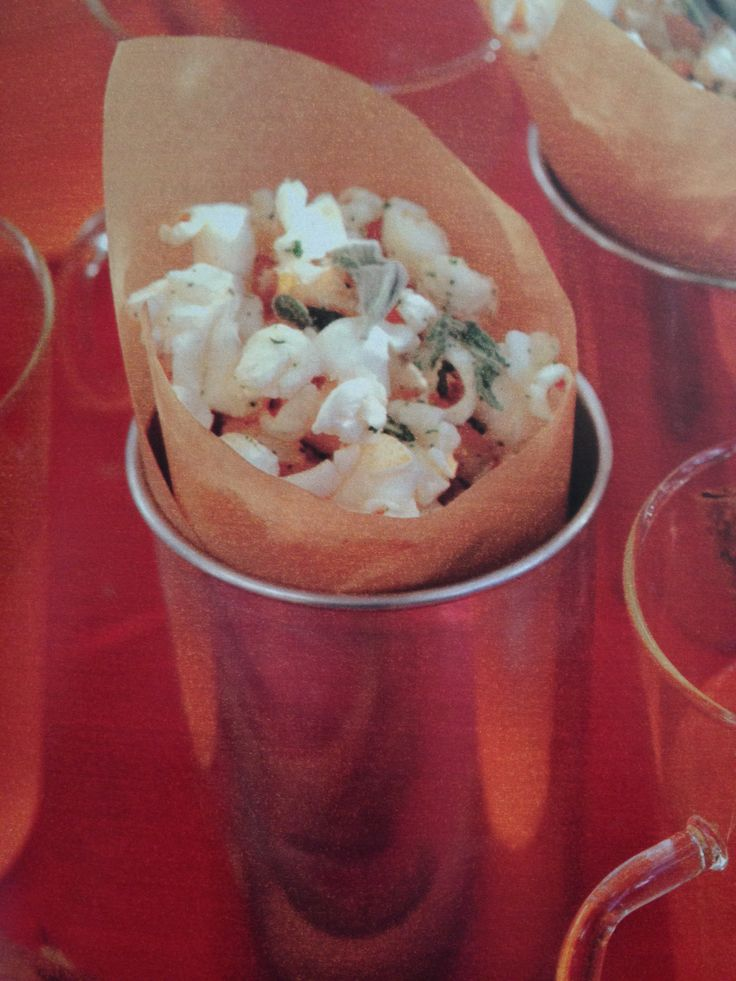 Sage popcorn | Snack Attack | Pinterest