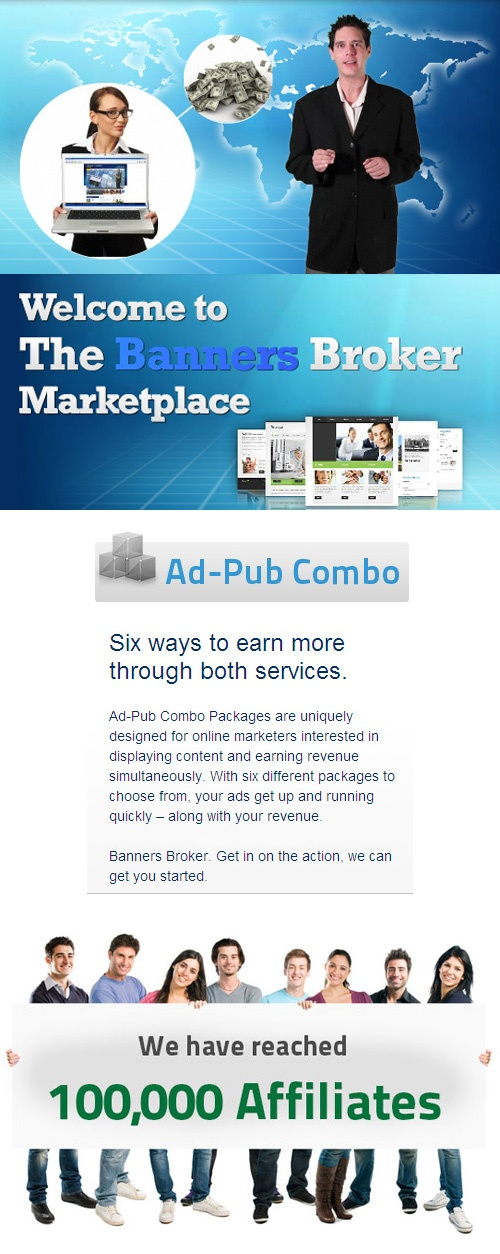 We want you to earn daily placing FREE ads!