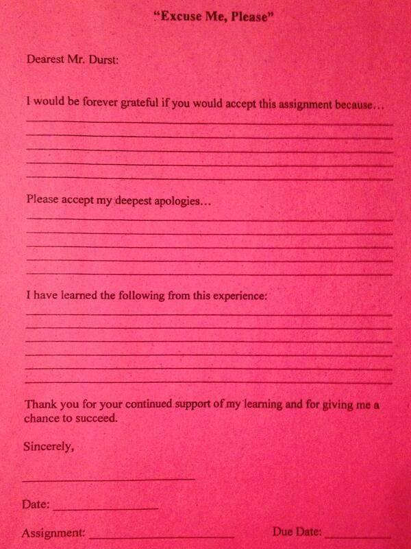 Apology Letter For Latework