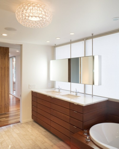 Amazing Sink In Front Of Window  Contemporary  Bathroom  Urban Grace