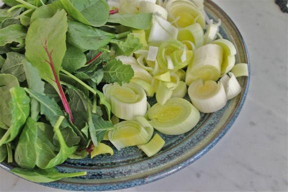 Amaranth polenta with leeks | Food - 6 Food Elimination Diet | Pinter ...