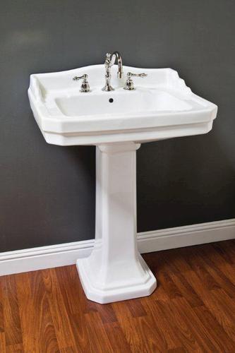Deco Pedestal Sink at Menards. Porcelain Deco Pedestal Sink w ...