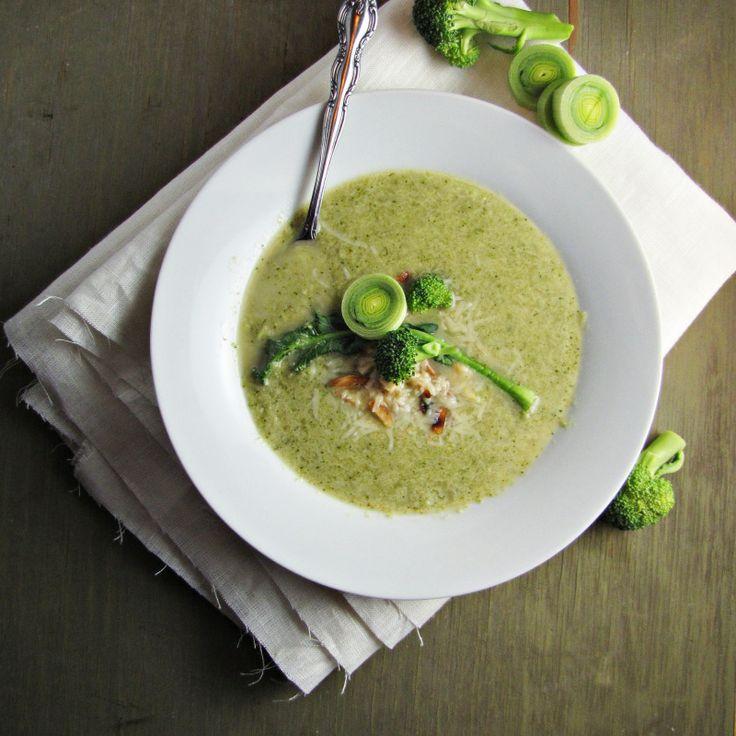 Broccoli and edamame soup | Soup Bowl | Pinterest