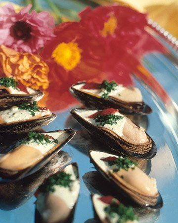 Mussels Remoulade | fish/ seafood | Pinterest