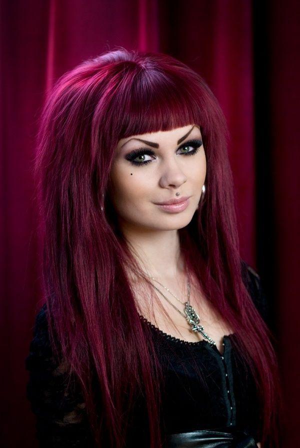 Magenta Hair Color For Dark Best Hair Color Inspiration 2018