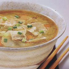 More like this: miso soup , sushi recipes and pork .