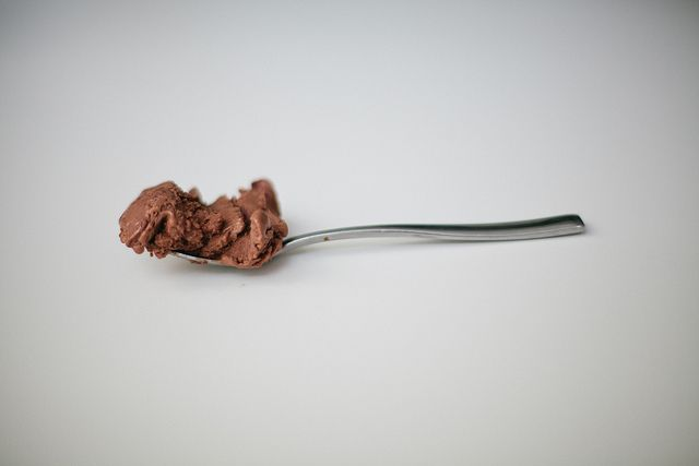 the milkiest chocolate ice cream | foodie | Pinterest