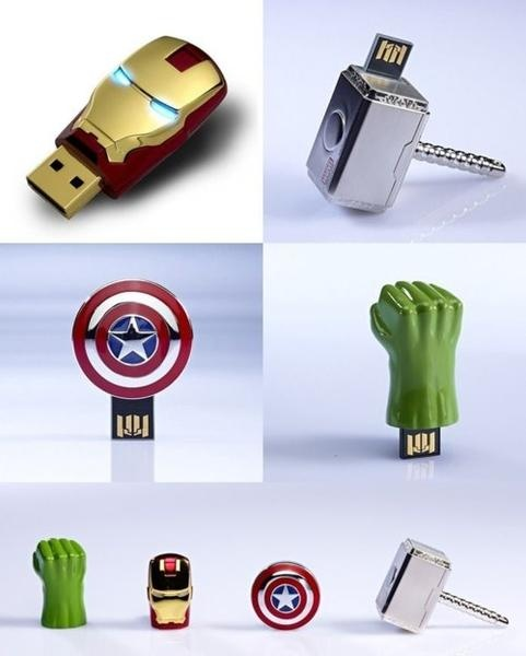 'The Avengers USB Flash Drives'