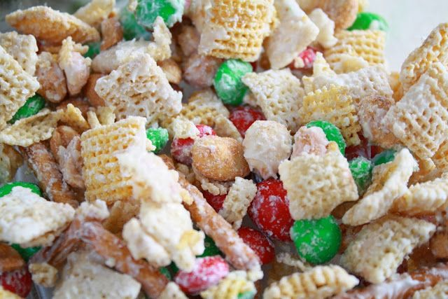 White Chocolate Chex Mix | Food | Pinterest