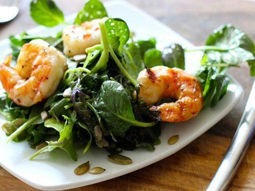 Shrimp salad | rock that body | Pinterest
