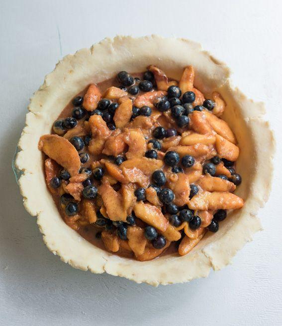 Peach blueberry pie | recipes | Pinterest
