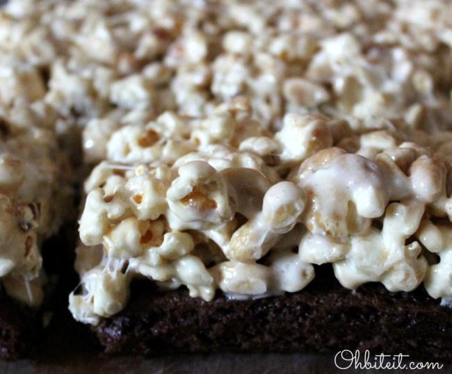 Stadium Brownies! | Oh Bite It | Popcorn | Pinterest
