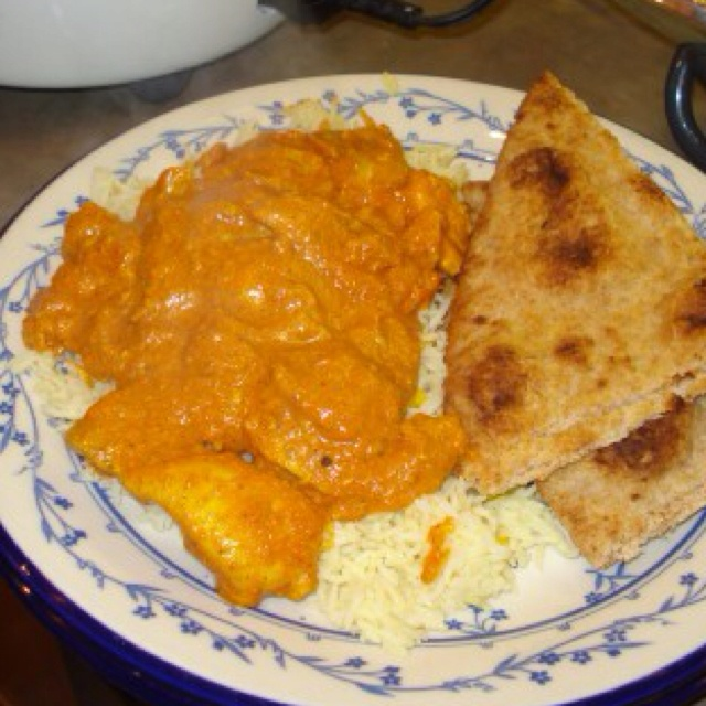 Indian Butter Chicken With Basmati Rice Recipe — Dishmaps