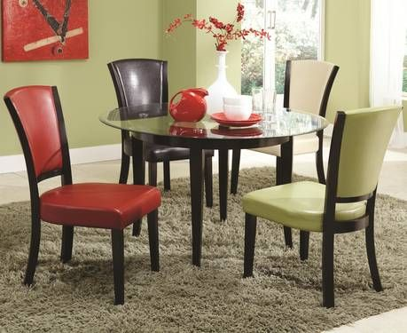 color dining table chair home decor multi colored chairs
