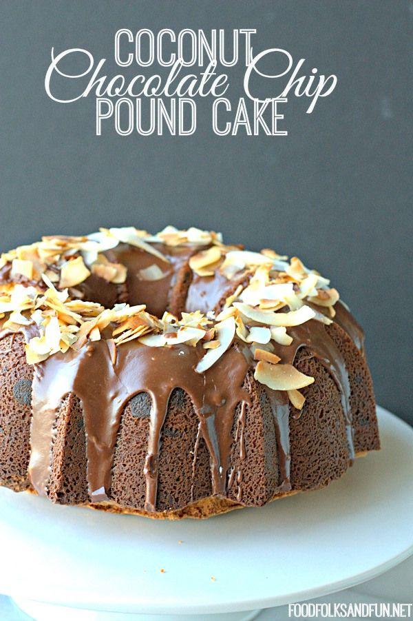 Coconut Chocolate Chip Pound Cake | Recipe