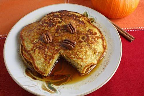 pumpkin pie pancakes #pumpkin #pancakes | Food Ideas | Pinterest