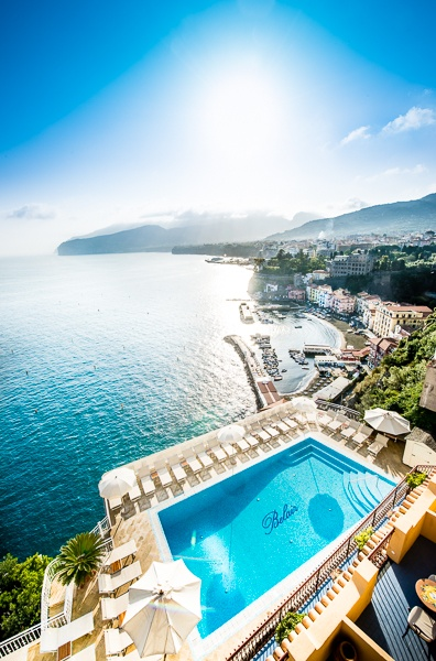 Hotel belair sorrento italy great hotel views pinterest for Great small hotels italy
