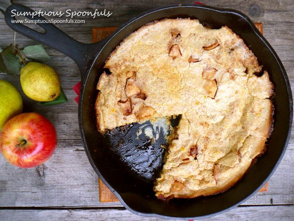 Caramelized Apple Pear Dutch Baby | Recipe